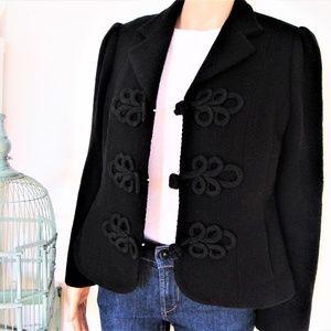 RALPH LAUREN wool blend jacket blazer black